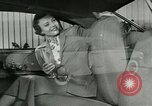 Image of Lincoln-Mercury automobile with arm rest New York United States USA, 1949, second 11 stock footage video 65675024705