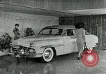 Image of Lincoln-Mercury automobile with power windows New York United States USA, 1949, second 7 stock footage video 65675024706