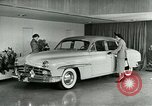 Image of Lincoln-Mercury automobile with power windows New York United States USA, 1949, second 8 stock footage video 65675024706