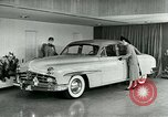 Image of Lincoln-Mercury automobile with power windows New York United States USA, 1949, second 9 stock footage video 65675024706