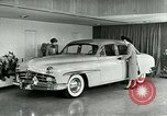 Image of Lincoln-Mercury automobile with power windows New York United States USA, 1949, second 10 stock footage video 65675024706