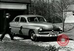 Image of family showing Lincoln-Mercury car Long Island New York USA, 1949, second 4 stock footage video 65675024712