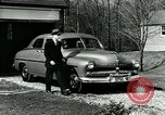 Image of family showing Lincoln-Mercury car Long Island New York USA, 1949, second 5 stock footage video 65675024712