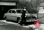 Image of family showing Lincoln-Mercury car Long Island New York USA, 1949, second 6 stock footage video 65675024712