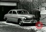 Image of family showing Lincoln-Mercury car Long Island New York USA, 1949, second 7 stock footage video 65675024712