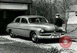 Image of family showing Lincoln-Mercury car Long Island New York USA, 1949, second 9 stock footage video 65675024712