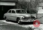 Image of family showing Lincoln-Mercury car Long Island New York USA, 1949, second 10 stock footage video 65675024712
