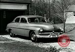 Image of family showing Lincoln-Mercury car Long Island New York USA, 1949, second 12 stock footage video 65675024712