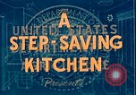 Image of U shaped kitchen United States USA, 1949, second 11 stock footage video 65675024716