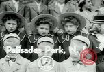Image of triplets Palisades New Jersey USA, 1951, second 1 stock footage video 65675024729