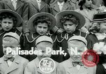 Image of triplets Palisades New Jersey USA, 1951, second 3 stock footage video 65675024729