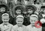 Image of triplets Palisades New Jersey USA, 1951, second 4 stock footage video 65675024729