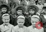 Image of triplets Palisades New Jersey USA, 1951, second 5 stock footage video 65675024729