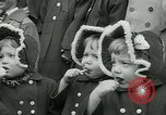 Image of triplets Palisades New Jersey USA, 1951, second 6 stock footage video 65675024729