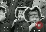 Image of triplets Palisades New Jersey USA, 1951, second 7 stock footage video 65675024729