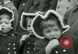 Image of triplets Palisades New Jersey USA, 1951, second 8 stock footage video 65675024729