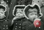 Image of triplets Palisades New Jersey USA, 1951, second 9 stock footage video 65675024729