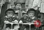 Image of triplets Palisades New Jersey USA, 1951, second 10 stock footage video 65675024729