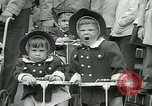 Image of triplets Palisades New Jersey USA, 1951, second 11 stock footage video 65675024729
