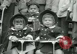 Image of triplets Palisades New Jersey USA, 1951, second 12 stock footage video 65675024729