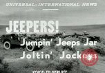 Image of jeep riding Yakima Washington USA, 1951, second 2 stock footage video 65675024731