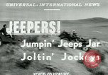 Image of jeep riding Yakima Washington USA, 1951, second 3 stock footage video 65675024731