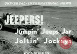 Image of jeep riding Yakima Washington USA, 1951, second 5 stock footage video 65675024731