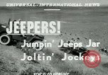 Image of jeep riding Yakima Washington USA, 1951, second 6 stock footage video 65675024731