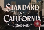 Image of landmarks Los Angeles California USA, 1950, second 2 stock footage video 65675024737