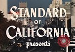 Image of landmarks Los Angeles California USA, 1950, second 6 stock footage video 65675024737