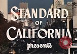 Image of landmarks Los Angeles California USA, 1950, second 8 stock footage video 65675024737