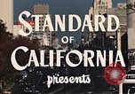 Image of landmarks Los Angeles California USA, 1950, second 9 stock footage video 65675024737
