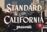 Image of landmarks Los Angeles California USA, 1950, second 10 stock footage video 65675024737