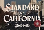 Image of landmarks Los Angeles California USA, 1950, second 11 stock footage video 65675024737