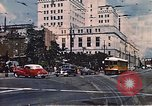 Image of landmarks Los Angeles California USA, 1950, second 1 stock footage video 65675024738