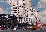 Image of landmarks Los Angeles California USA, 1950, second 4 stock footage video 65675024738