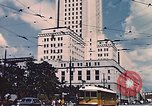 Image of landmarks Los Angeles California USA, 1950, second 5 stock footage video 65675024738