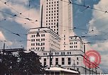 Image of landmarks Los Angeles California USA, 1950, second 6 stock footage video 65675024738