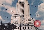 Image of landmarks Los Angeles California USA, 1950, second 7 stock footage video 65675024738