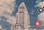 Image of landmarks Los Angeles California USA, 1950, second 10 stock footage video 65675024738