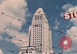 Image of landmarks Los Angeles California USA, 1950, second 11 stock footage video 65675024738