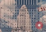 Image of landmarks Los Angeles California USA, 1950, second 12 stock footage video 65675024738
