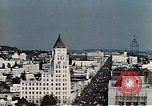 Image of Hollywood landmarks in 1950 Los Angeles California USA, 1950, second 9 stock footage video 65675024743