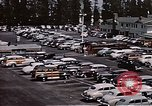 Image of Farmer's Market Los Angeles California USA, 1950, second 2 stock footage video 65675024748