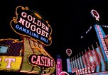 Image of casinos Las Vegas Nevada USA, 1976, second 1 stock footage video 65675024765