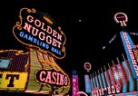 Image of casinos Las Vegas Nevada USA, 1976, second 2 stock footage video 65675024765
