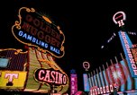 Image of casinos Las Vegas Nevada USA, 1976, second 3 stock footage video 65675024765
