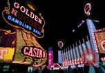 Image of casinos Las Vegas Nevada USA, 1976, second 4 stock footage video 65675024765