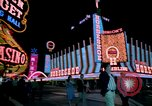 Image of casinos Las Vegas Nevada USA, 1976, second 5 stock footage video 65675024765