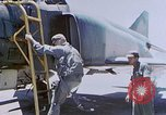 Image of Return from F-4C mission Vietnam, 1966, second 10 stock footage video 65675024785